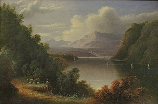 Landscape With Mountains