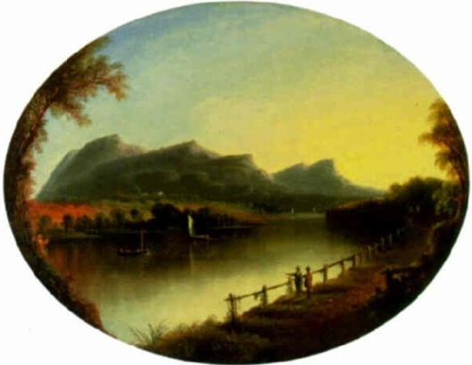Mount Tom On The Connecticut River