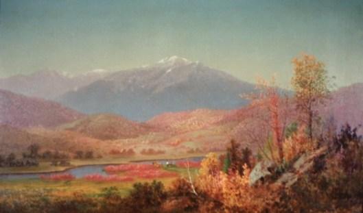 Mount Washington And Mount Madison From Shelburne