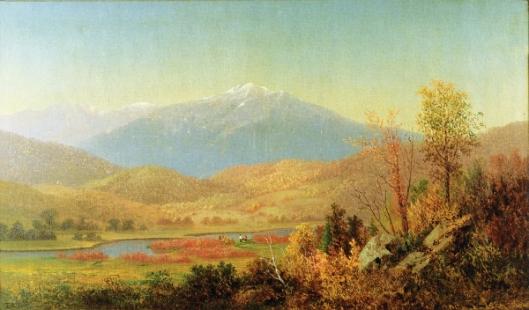 Mount Washington And Saco River