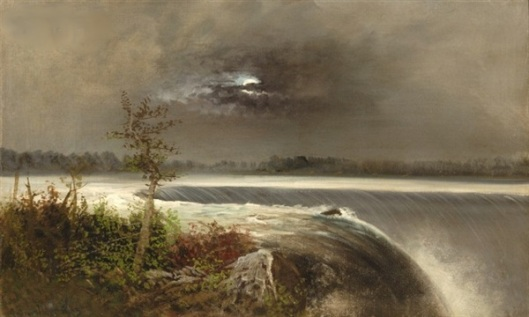 Niagara By Moonlight