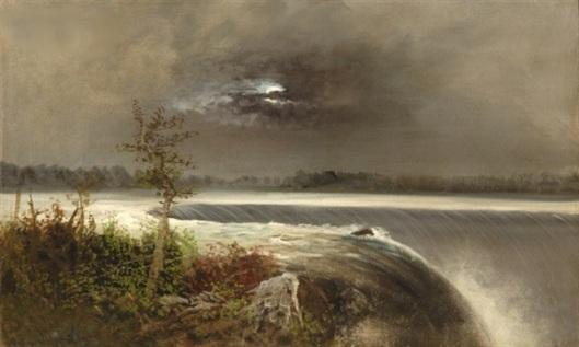 Niagara By Moonlight