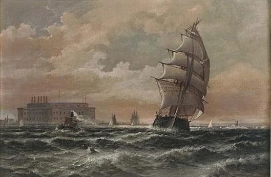 Off New York Harbor