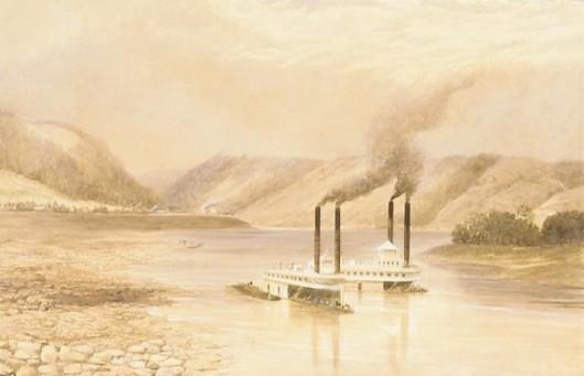 The Ohio River Near Wheeling, West Virginia