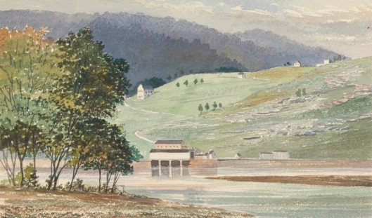 View Near Harper's Ferry, Virginia