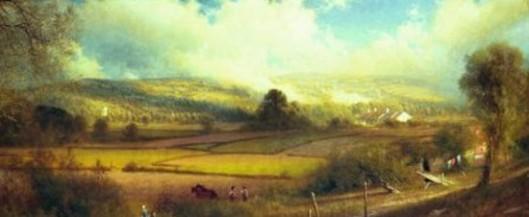 A View Of Pennsylvania Countryside
