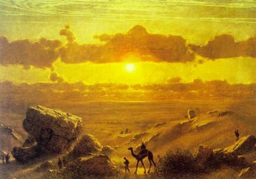 Camel Trail In Evening Sunlight