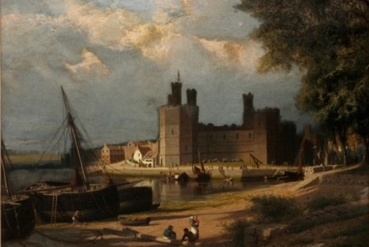 Castle With Harbor