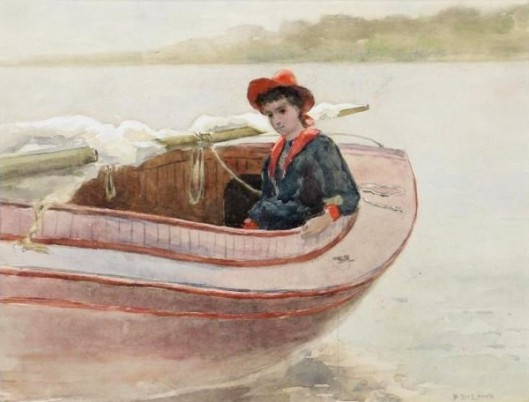 Child In Boat