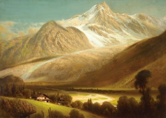 Expansive Mountain Landscape