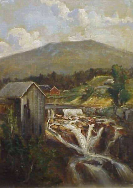 Goodrich Falls On The Ellis River