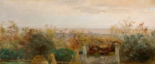 Italian Villa With View Toward Albano
