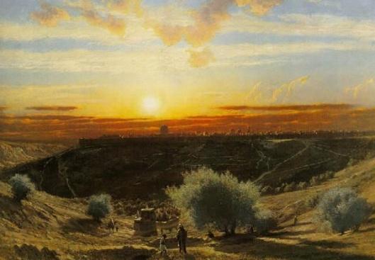 Jerusalem (From The Mount Of Olives)