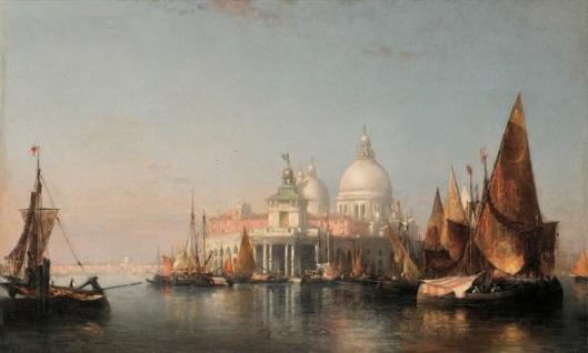 Morning In Venice - Dogana And The Church Of Santa Maria della Salute