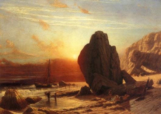 Sunset On The Coast Of Corsica