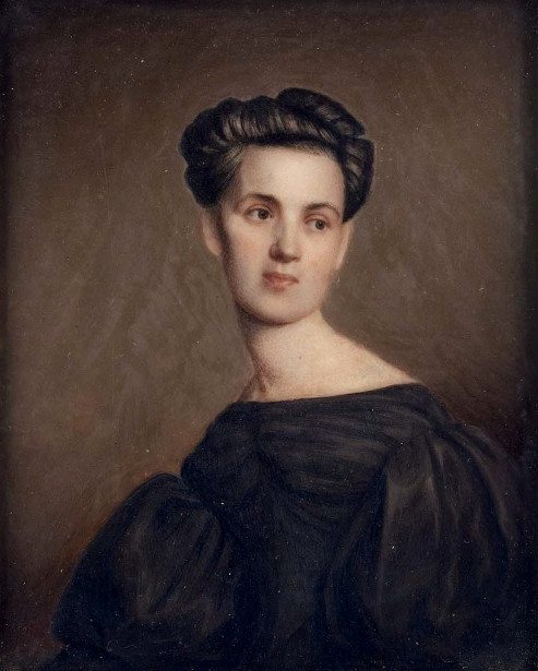 Mrs. Alvan Clark (Maria Pease) (The Artist's Wife)