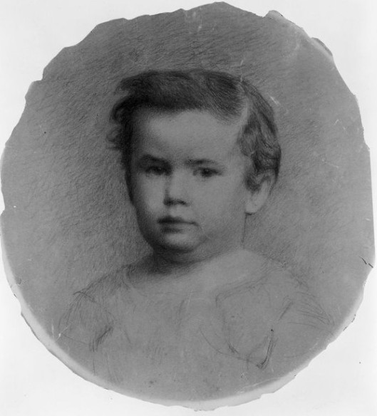 William Elmer Saunders As A Child